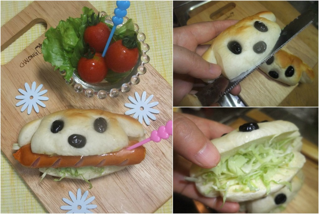 Mini Hot Dog.