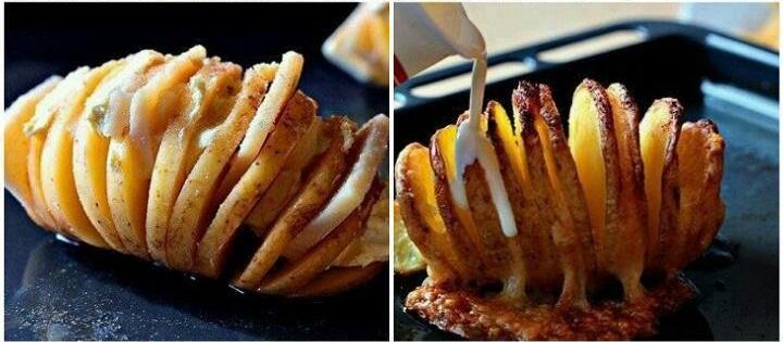 Narezani krompir - izrada.