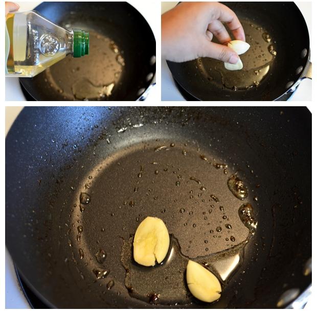 Dinstati beli luk na maslinovom ulju.
