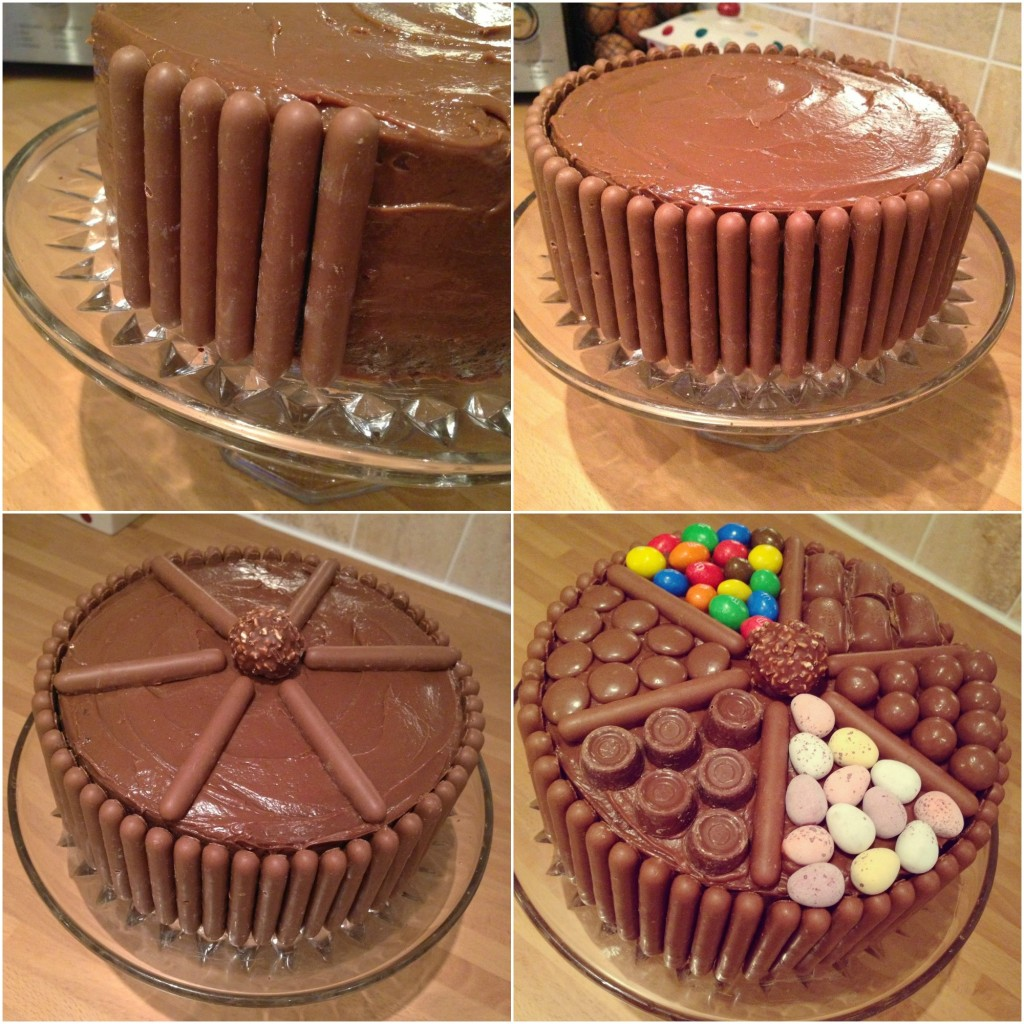 Torta čokoladni greh - dekorisanje.