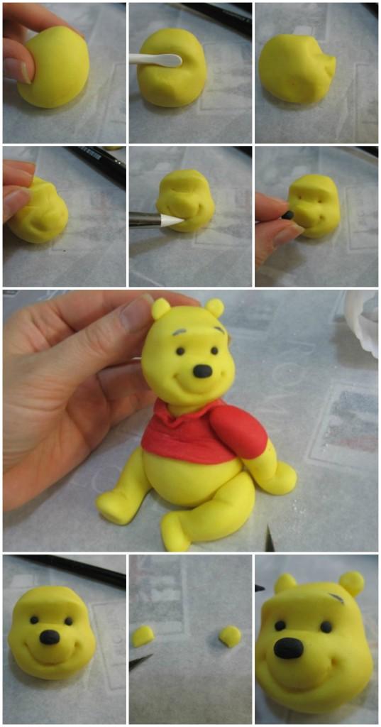 Winnie the Pooh od fondana - glava.