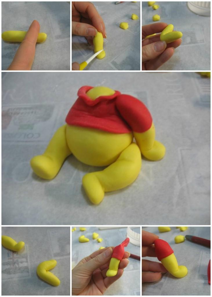 Winnie the Pooh od fondana - ruke.