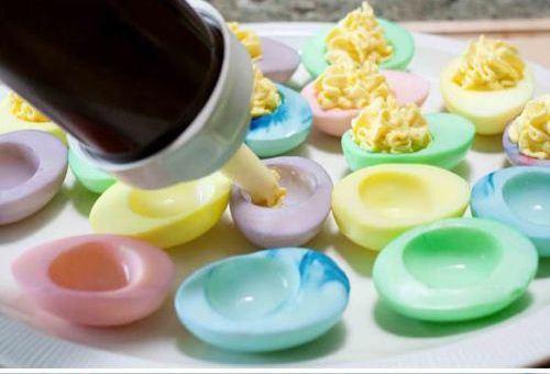 Šarena jaja - punjenje.