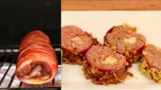 Gurmanski sushi sa slaninom - Kreativni recepti.