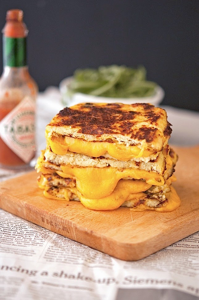 Sendviči od karfiola i sira.