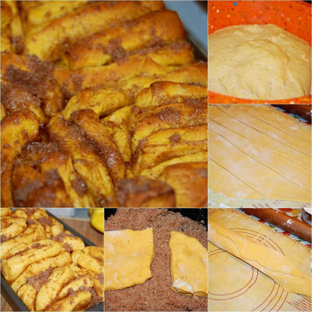 Bundeva i cimet - slatki hleb: pečen.