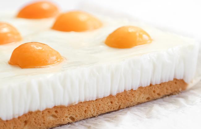 """Slatko """"jaje na oko"""" - postupak izrade."""