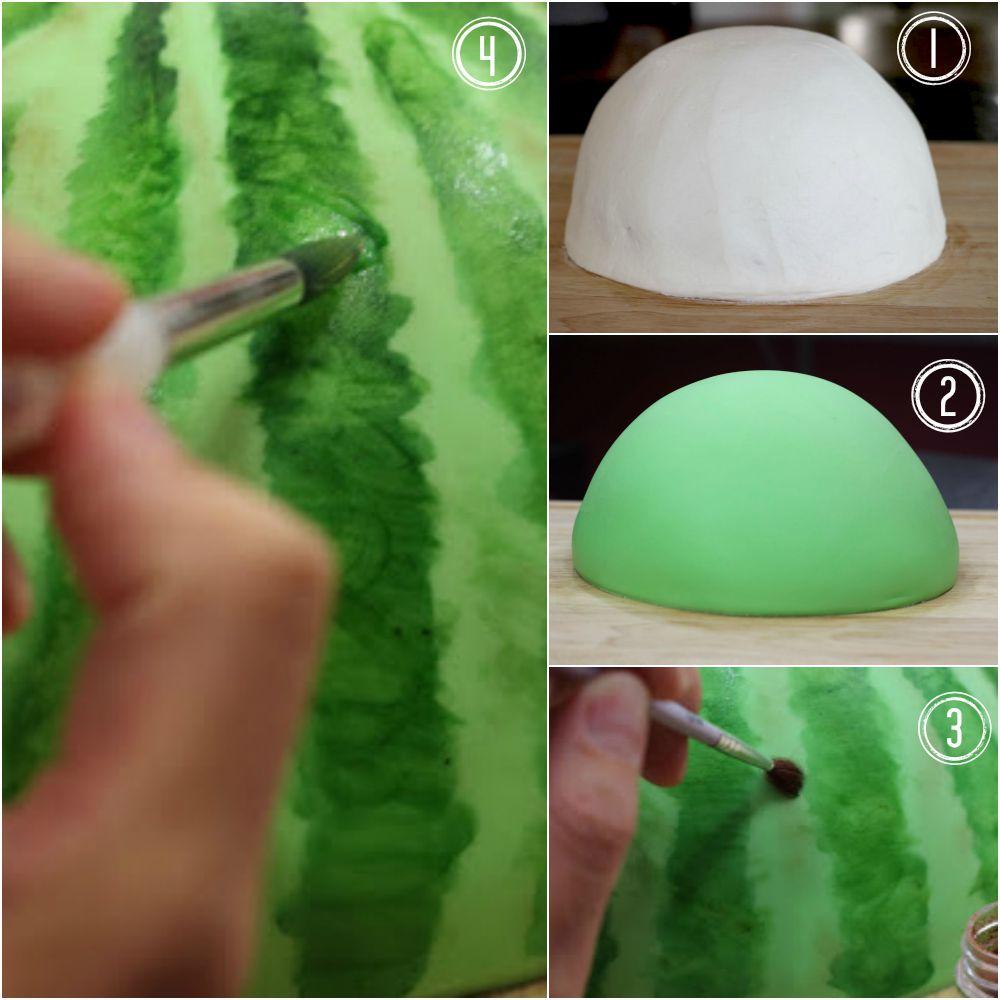 Torta lubenica - fondan.
