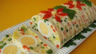 Svečane bele pihtije - kreativni recepti: predjelo.