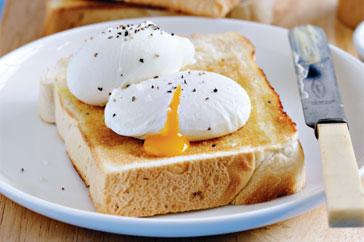 poširana jaja recept