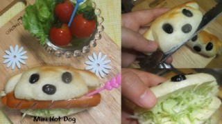 Mini Hot Dog - kreativni recepti.