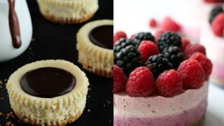 Mini cheesecake - kreativni recepti.